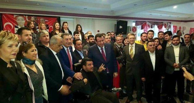 MHP Karşıyaka'ya 1200 kişi katıldı