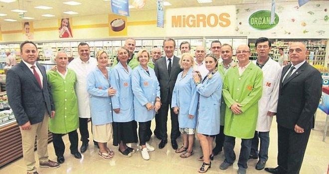 Migros İzmir'de 30. Yılını Bostanlı'da kutladı...