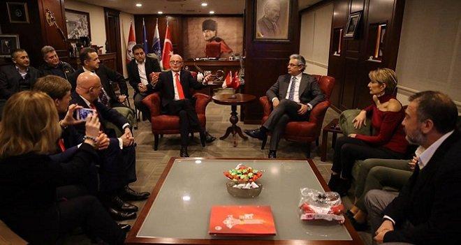 Monaco Başbakanı Karşıyaka Belediyesi'ni ziyaret etti