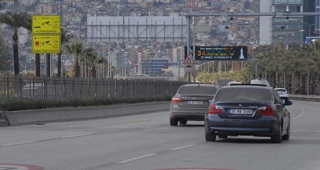 Otomatik radar sistemi, Karşıyaka Yalı'da devreye girdi