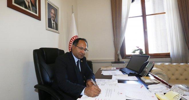 Özcan Purçu, Meclis'te Güzelbahçe Hastanesi'ni sordu