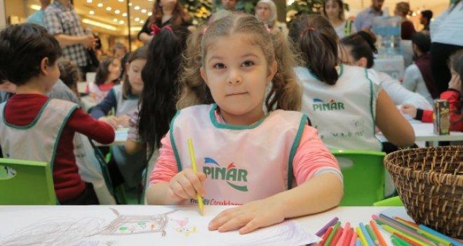 Pınar, Resim Atölyeleri ile çocukları sanatla buluşturacak