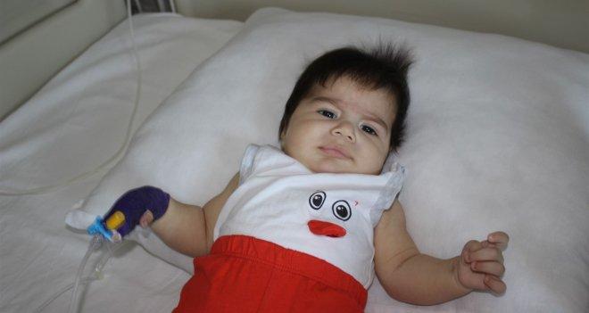 Sosyal medyadan duydu; Mehmet bebeğe hayat verdi...