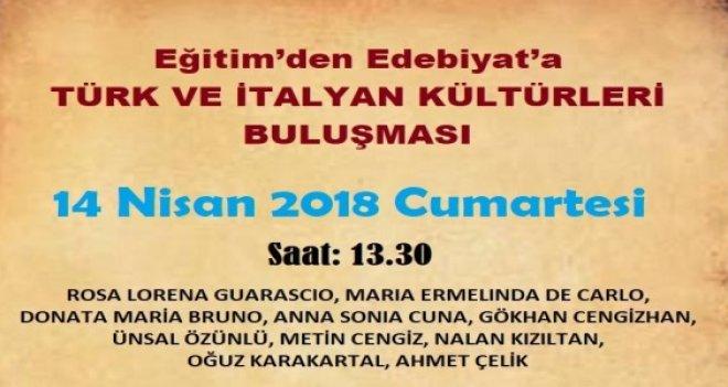 Türk ve İtalya Edebiyatları Karşıyaka'da buluşuyor