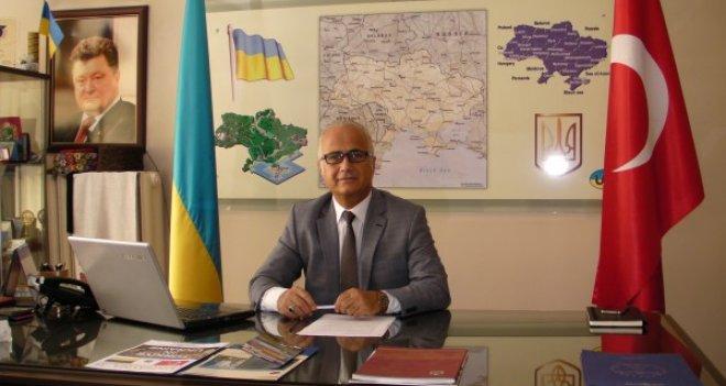 Ukrayna'nın 24. Bağımsızlık yıldönümü İzmir'de kutlandı