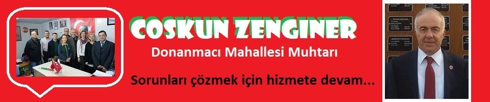 Muhtar Zenginer: Sorunları çözmeye devam...