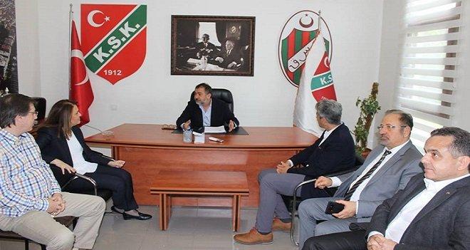 Yelken Federasyonu Başkanı Akdurak, Karşıyaka'yı ziyaret etti